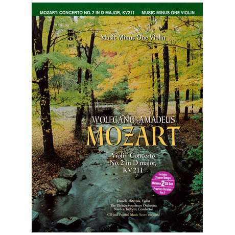 Mozart: Violin Concerto No.2 in D major KV211 (+2CDs)