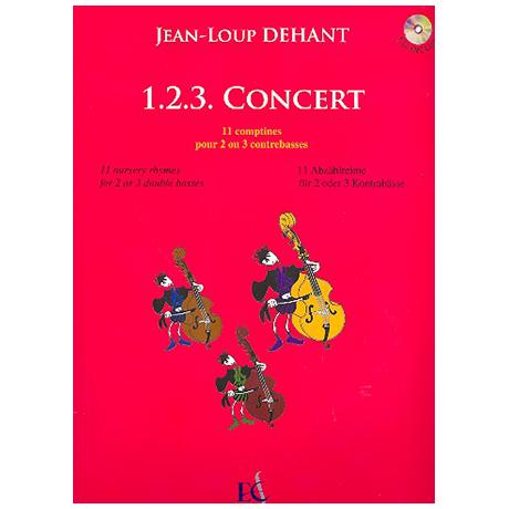 Dehant, J.-L.: 1.2.3. Concert (+CD)