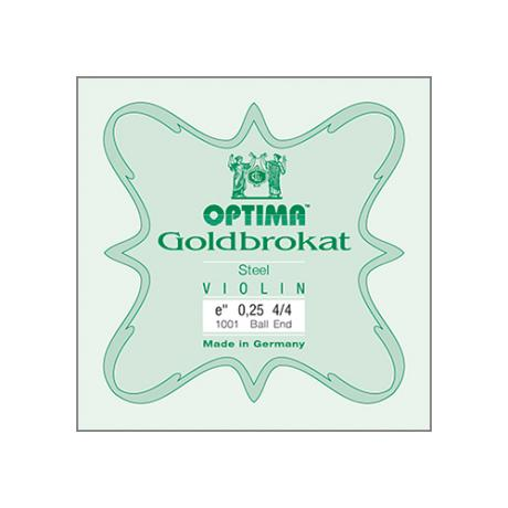 OPTIMA Goldbrokat corde violon Mi