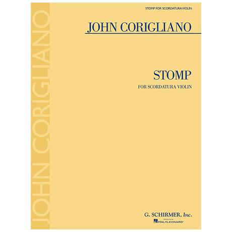 Corigliano, J.: Stomp for Scordatura Violin