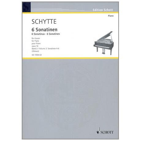Schytte, L.: 6 Sonatinen Op.76 Band 2