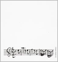Bloc-notes Concerto