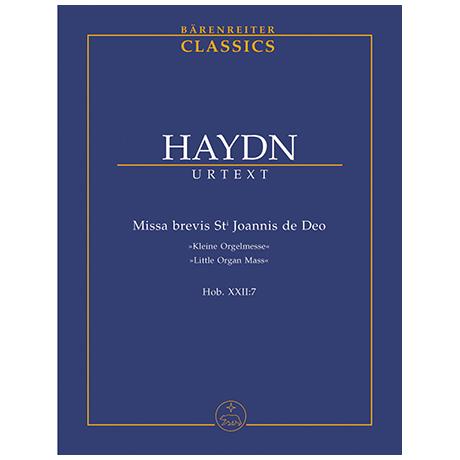 Haydn, J.: Missa brevis Sti.Joannis de Deo Hob. XXII:7 »Kleine Orgelmesse«