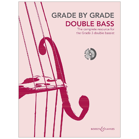 Grade by Grade – Double Bass 3 (+CD)