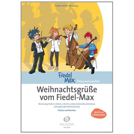 Holzer-Rhomberg, A.: Weihnachtsgrüße vom Fiedel-Max