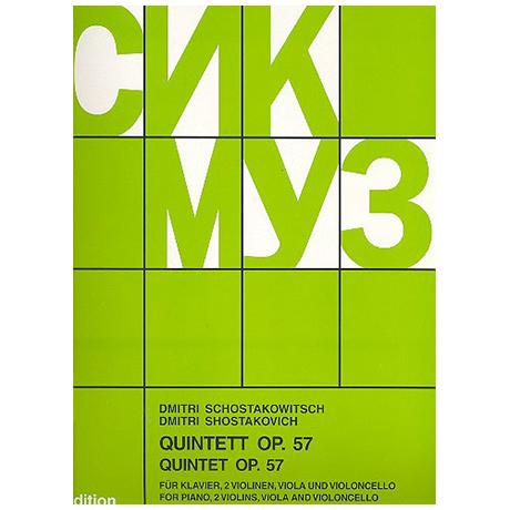 Schostakowitsch, D.: Klavierquintett g-Moll, Op. 57