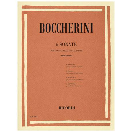 Boccherini, L.: 6 Violoncellosonaten