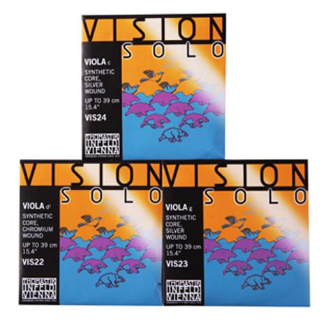 THOMASTIK Vision SOLO cordes alto Ré-Sol-Do
