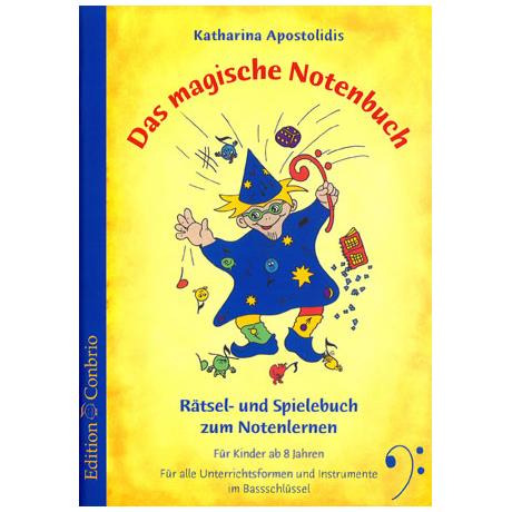 Apostolidis: Das magische Notenbuch ( im Bassschlüssel)