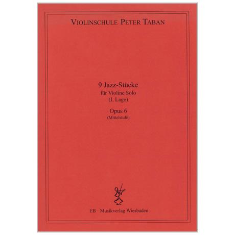 Taban, P.: 9 Jazz-Stücke Op. 6
