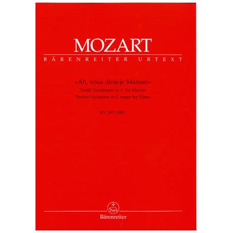 Mozart, W. A.: Variationen über Ah, vous dirai-je Maman