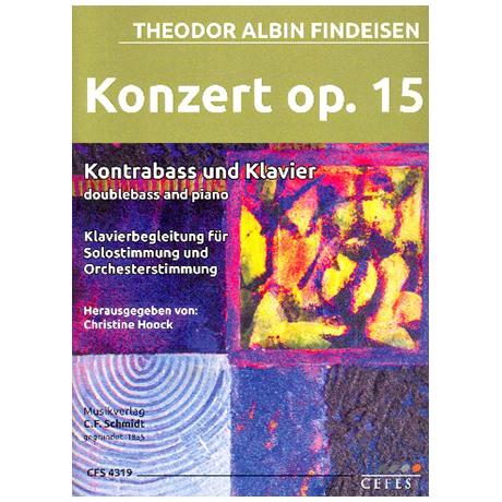 Findeisen, Th. A.: Kontrabasskonzert Nr. 1 Op. 15 (1922)