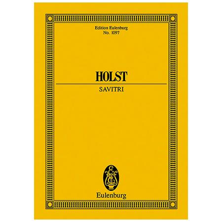 Holst, G.: Savitri Op. 25