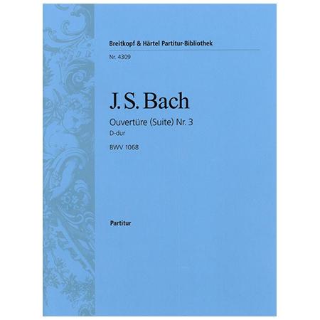 Bach, J. S.: Ouvertüre (Suite) Nr. 4 D-Dur BWV 1069