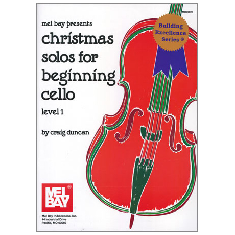 Duncan, C.: Christmas Solos for Beginning Cello