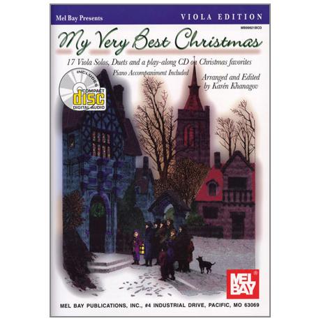 Khanagov, K.: My Very Best Christmas (+CD)