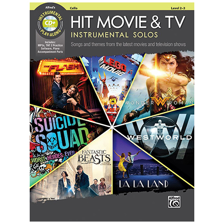Hit Movie & TV Instrumental Solos for Cello (+CD)