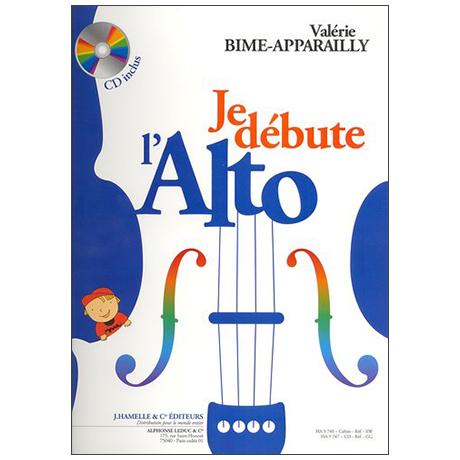 Bime-Apparailly, V.: Je Débute l'alto Vol. 1 (+CD)