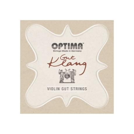 OPTIMA Gut Klang cordes violon JEU