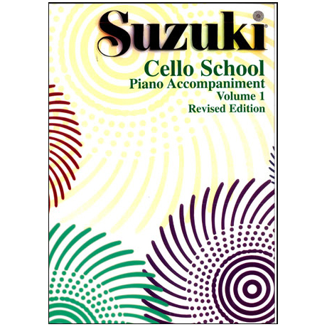 Suzuki Cello School Vol. 1 – Klavierbegleitung