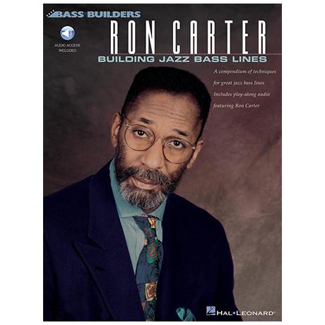 Carter, R.: Building Jazz Bass Lines (+OnlineAudio)