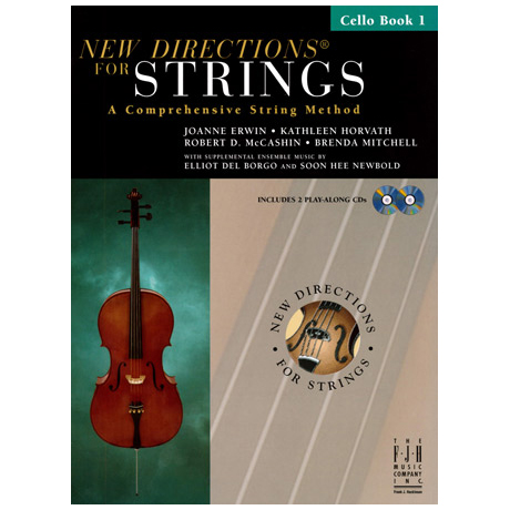 New Directions for Strings - Cello Book 1 (+CD)