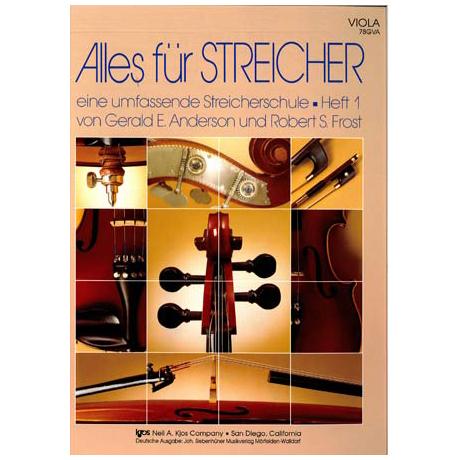 Anderson/ Frost: Alles für Streicher Heft 1 (Viola)