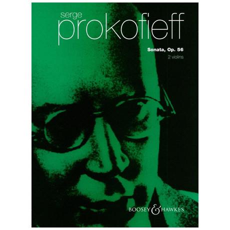 Prokofieff, S.: Sonate op.56