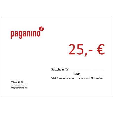 Bon d'achat 25,- EUR