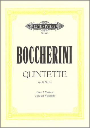Boccherini, L.: Quintette Op. 45/1-3