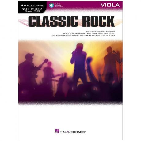 Classic Rock for Viola (+Online Audio)