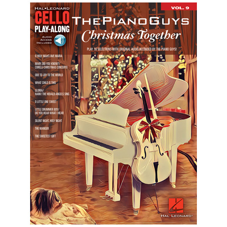 The Piano Guys – Christmas Together for Cello (+Online Audio)