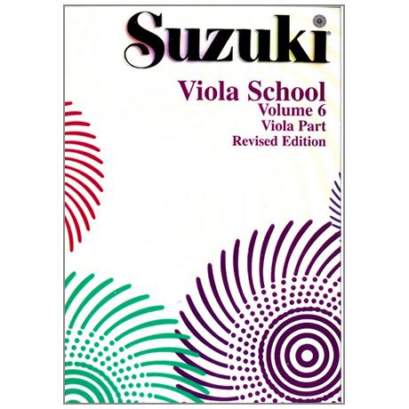Suzuki Viola School Vol. 6