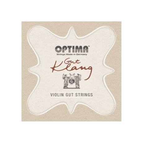 OPTIMA Gut Klang cordes violon JEU