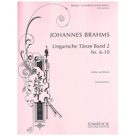 Brahms, J.: Ungarische Tänze Band 2