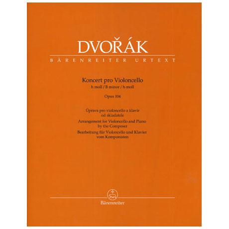 Dvořák, A.: Konzert Op. 104 h-Moll