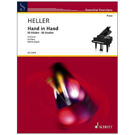 Heller, B.: Hand in Hand – 50 Etüden