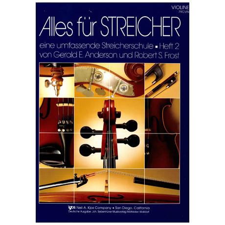 Alles für Streicher – Schule Heft 2