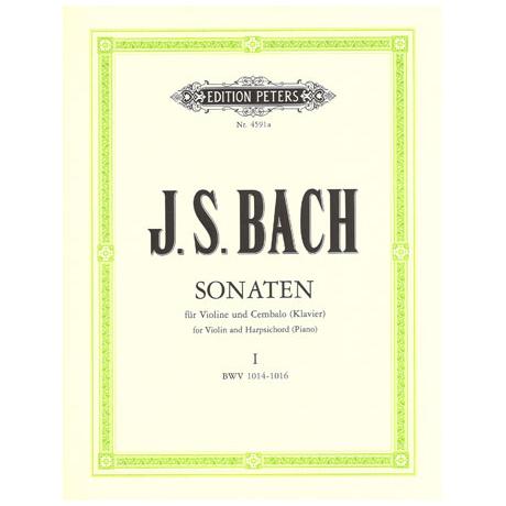 Bach, J. S.: 6 Violinsonaten Band 1 (Nr. 1-3) BWV 1014 - 1016
