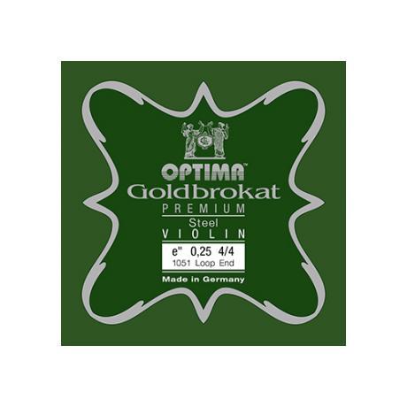OPTIMA Goldbrokat Premium corde violon Mi