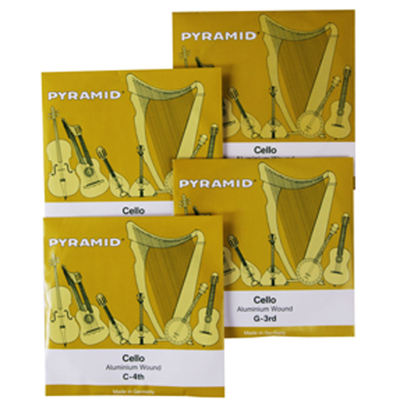 PYRAMID Alu cordes violoncelle JEU