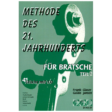 Glaser, F. / Jansen, G.: Methode des 21. Jahrhunderts Band 2 (+CD)