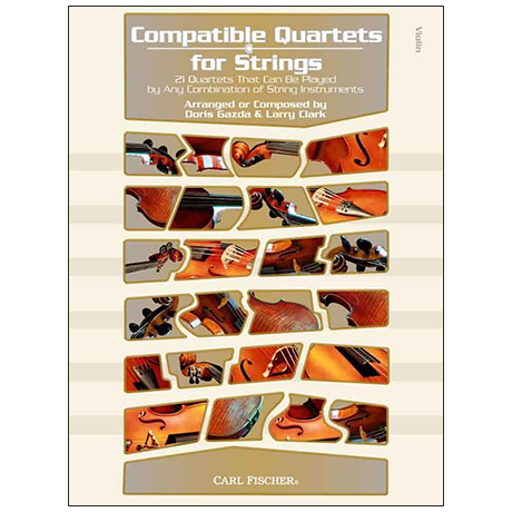 Compatible Quartets for Strings – violin