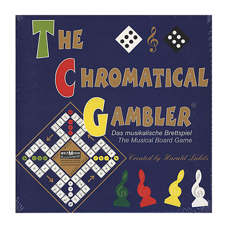 The chromatical Gambler - Le jeu musical de hasard