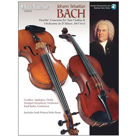 Bach, J. S.: Doppelkonzert BWV 1043 d-Moll (+ Online Audio)