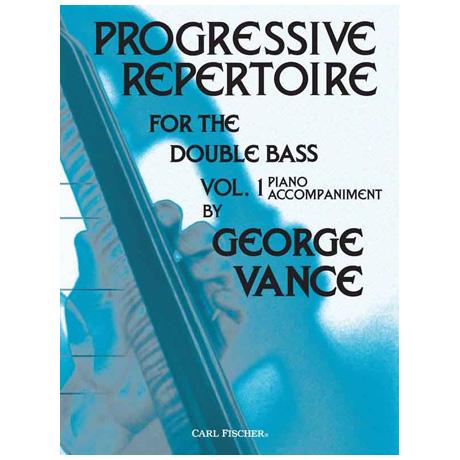 Vance, G.: Progressive Repertoire Band 1 – Klavierbegleitung