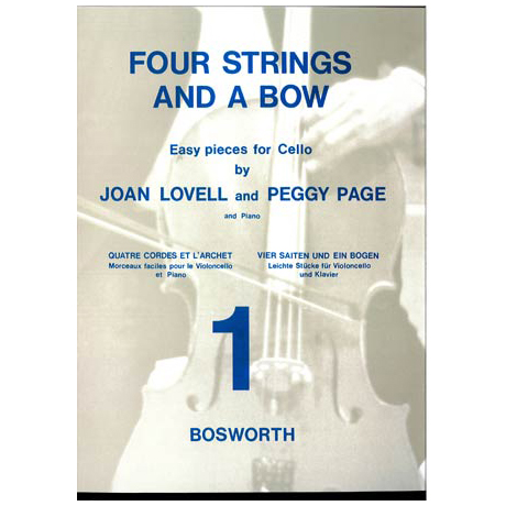"""Lovell; J.: Four strings and a bow Vol. 1"""