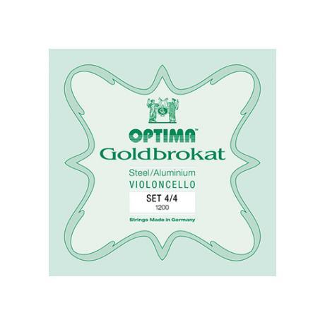 OPTIMA Goldbrokat cordes violoncelle JEU