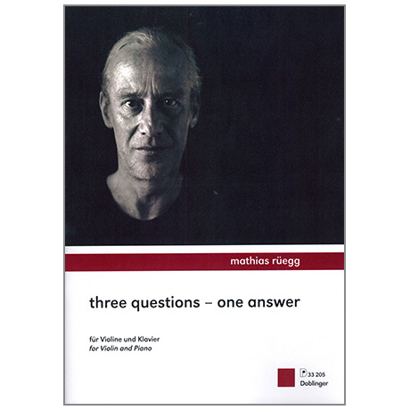 Rüegg, M.: Three Questions - One Answer