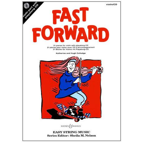 Fast Forward: Für Violine (+ CD)